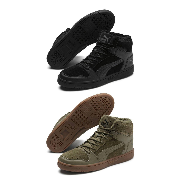 Puma Puma Rebound LayUp SD Fur Sneaker Chukkas Leder Unisex Schuhe HW19