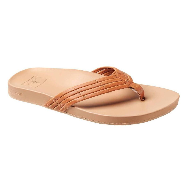 Reef Cushion Bounce Sunny  Zehentrenner Sandalen Leder Damen Schuhe FS18