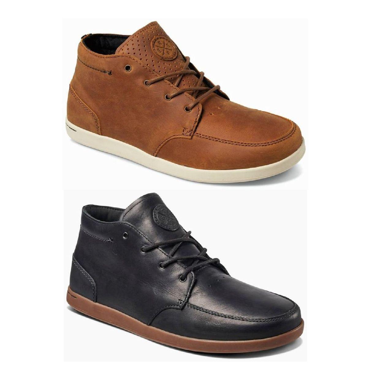 Reef Spiniker Mid NB Sneaker Chukkas Leder Herren Schuhe HW18