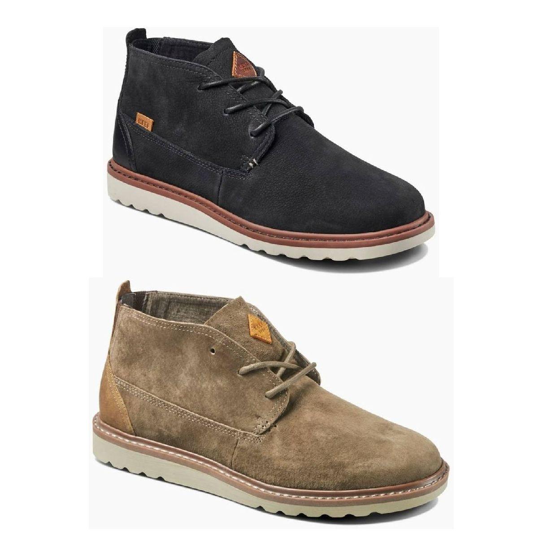 Reef Voyage Boot Sneaker Chukkas Leder Herren Schuhe HW18