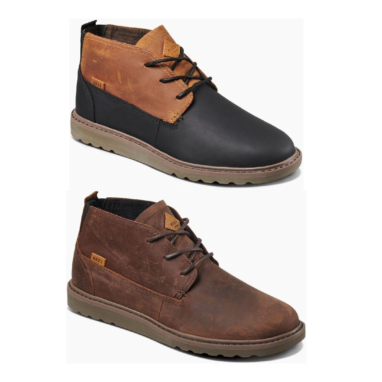 Reef Voyage Boot LE Sneaker Chukkas Leder Herren Schuhe HW19