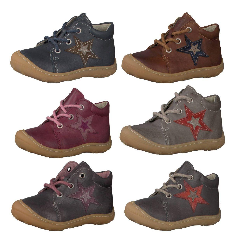 Ricosta Pepino Romy Lauflernschuhe Schnürschuhe Leder Kinder Schuhe HW19