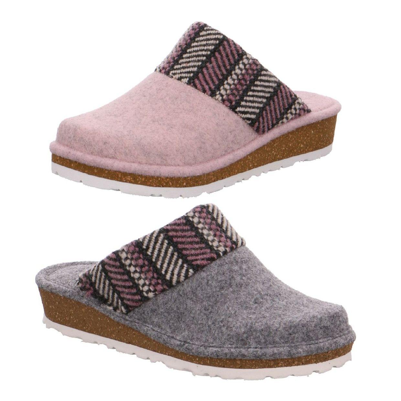 Rohde Forli Sandalen Hausschuhe Filz Damen Schuhe HW18