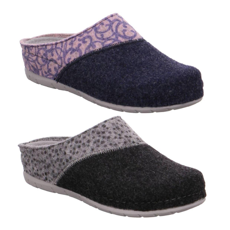 Rohde Riesa Sandalen Hausschuhe Filz Damen Schuhe HW19