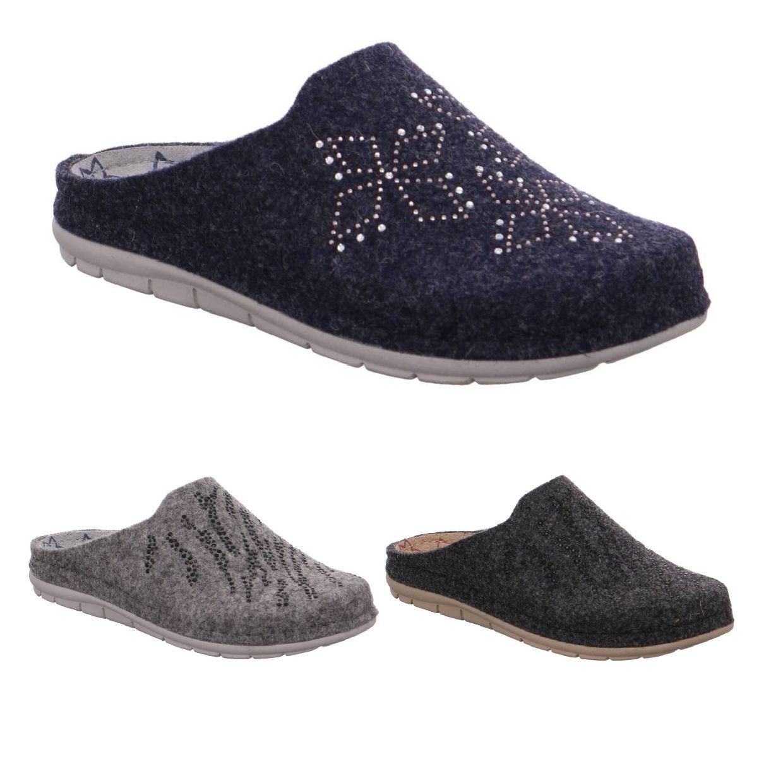 Rohde Rodigo Sandalen Hausschuhe Filz Damen Schuhe HW19