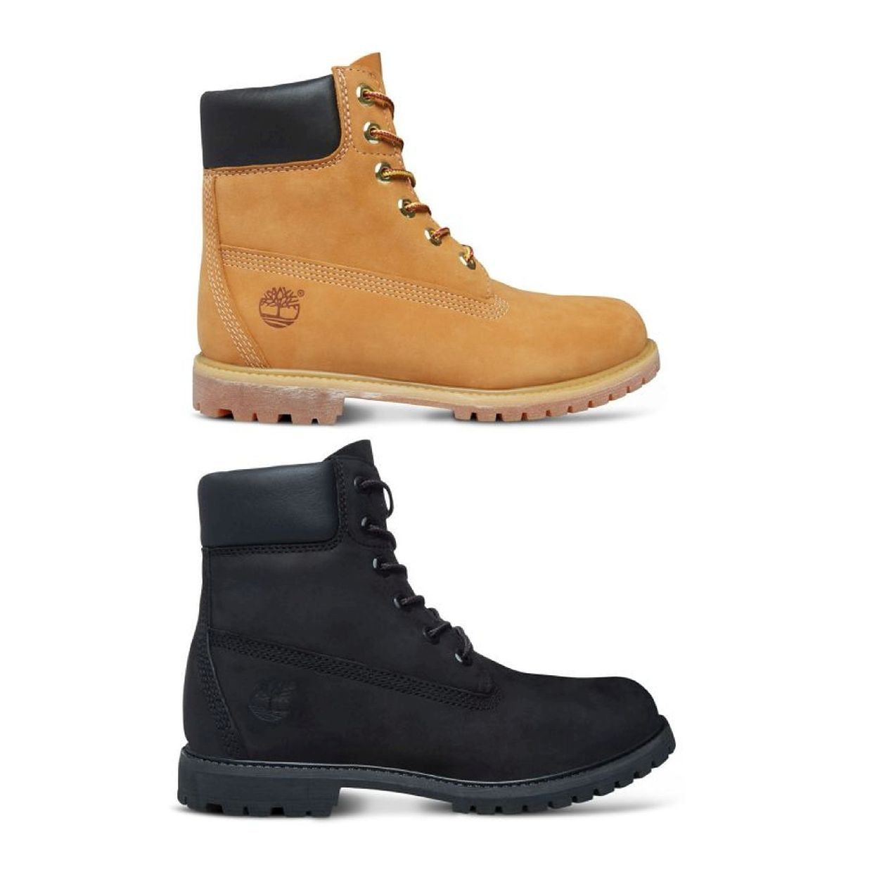 Timberland 6-Inch Premium Boot Women Schnürschuhe Stiefel Leder Damen Schuhe CO