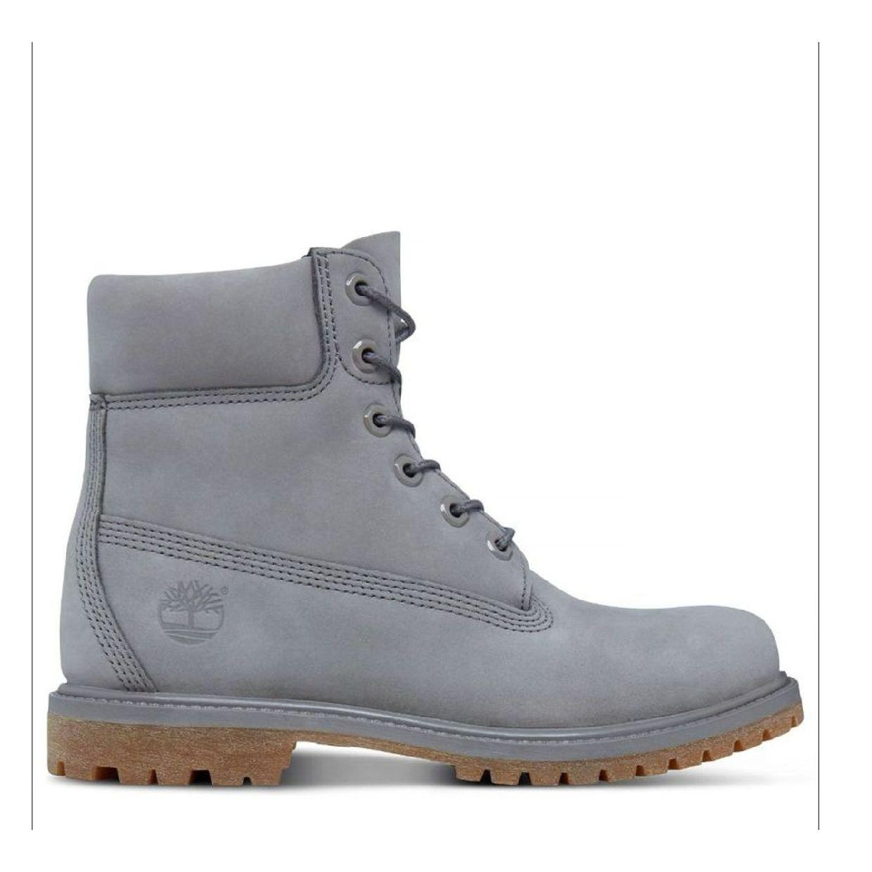 Timberland 6-Inch Premium Boot Women Schnürschuhe Nubukleder Damen Schuhe CO