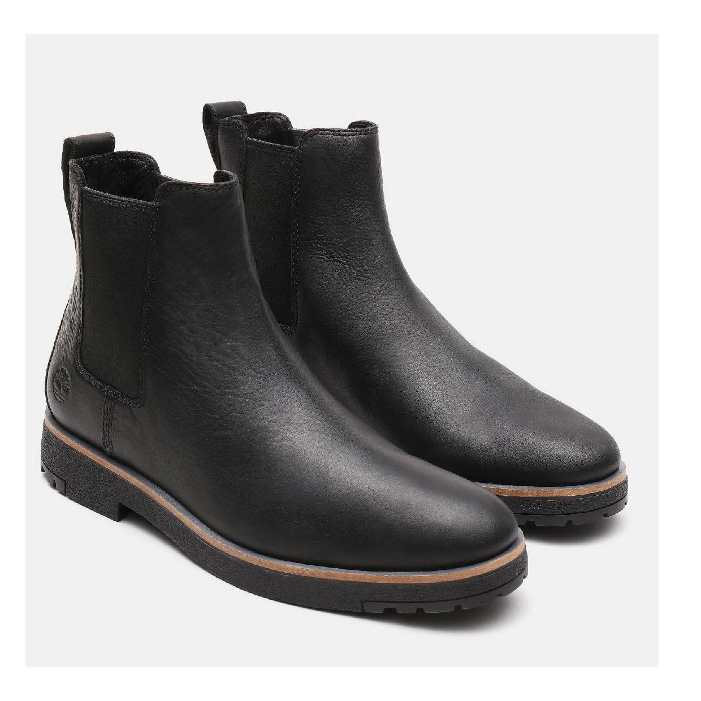 Timberland Folk Gentleman Chelsea Stiefel Schlüpfschuhe Leder Herren Schuhe HW19