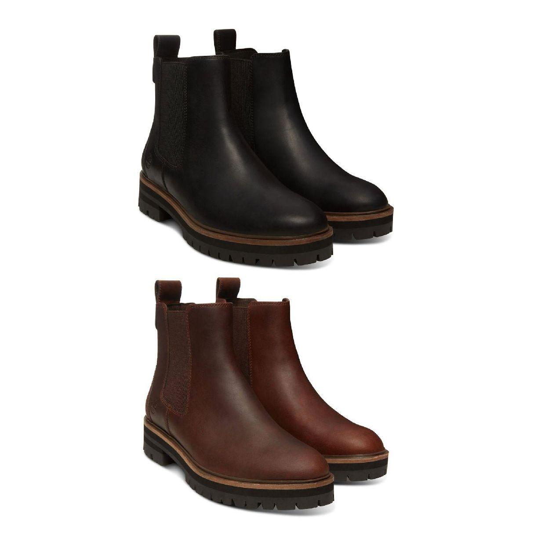 Timberland London Square Chelsea Boot Stiefel SchlüpfLeder Damen HW18