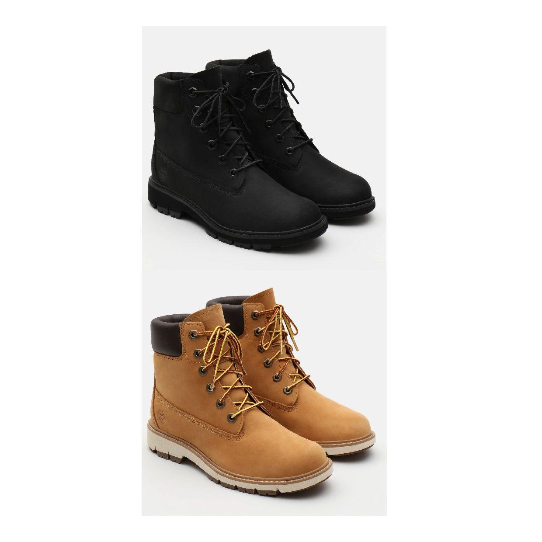 Timberland Lucia Way 6-Inch WP Boot Stiefel Schnürschuhe Leder Damen Schuhe HW19