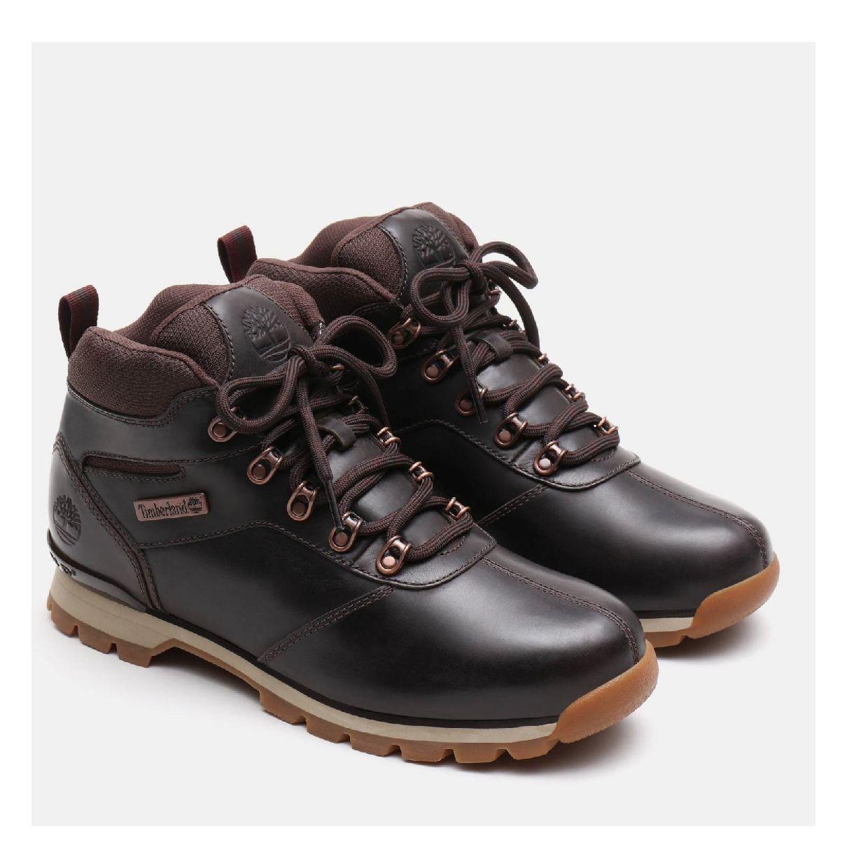 Timberland Splitrock 2 Stiefel Schnürschuhe Leder Herren Schuhe HW19