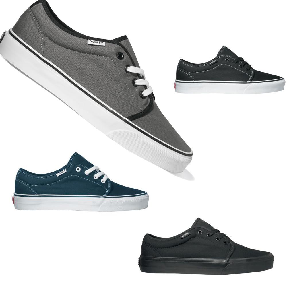 Vans 106 Vulcanized Skate Sneaker Unisex Canvas Schuhe Vulkanisiert
