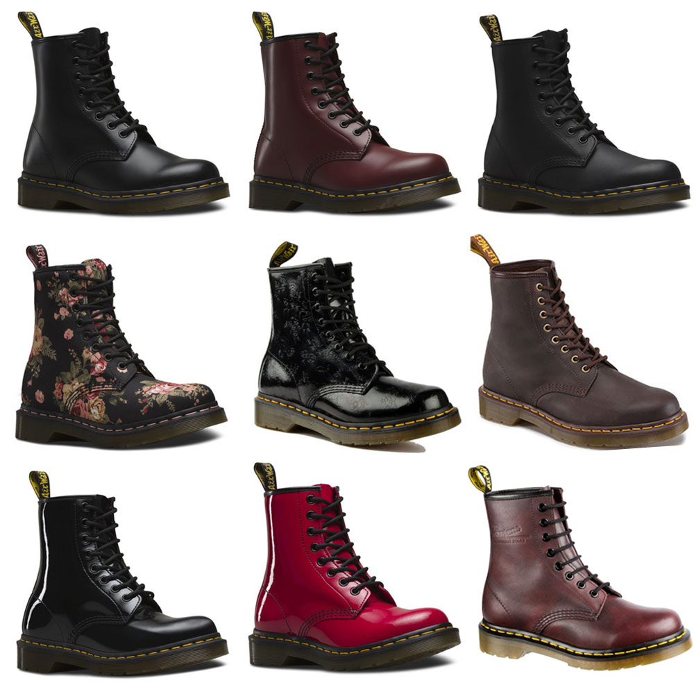 Details about Dr Martens 1460 8 Hole Boots Classic Womens Mens Boots Leather New show original title