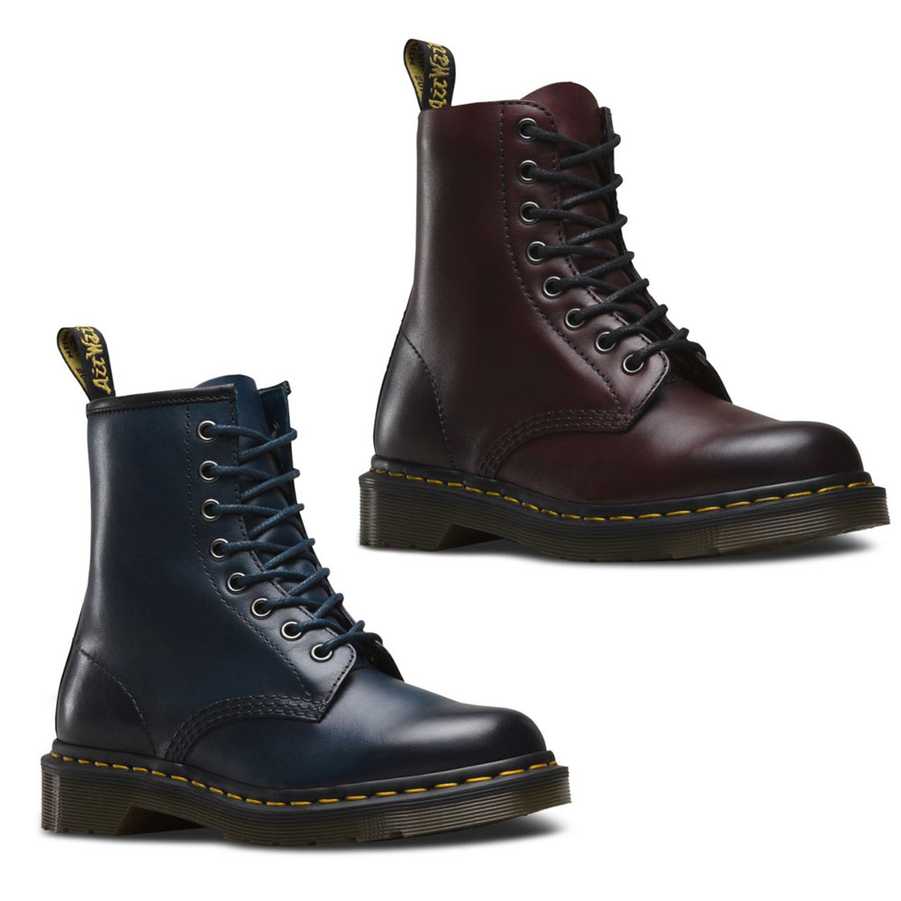 Dr. Martens 1460 Antique Temperley 8-Eye Leder Schnürstiefel Boots robust
