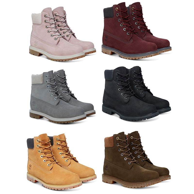 Timberland 6-Inch Premium Boot Women Damen Freizeit Wanderstiefel Kollektion