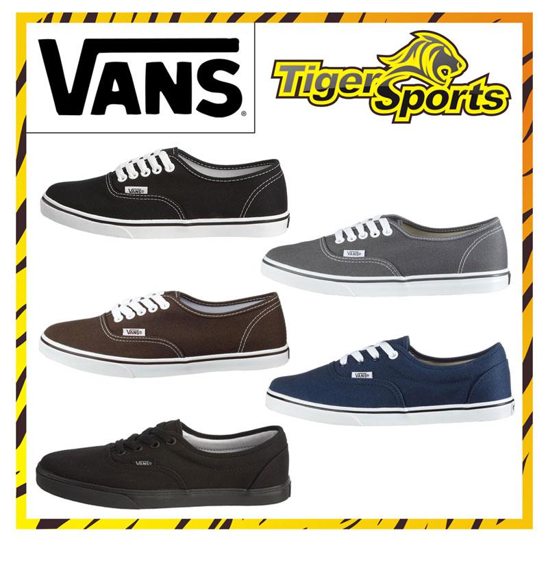 Vans Authentic Lo Pro Carryover Unisex Men Women Low-Cut Sneakers Many Colours