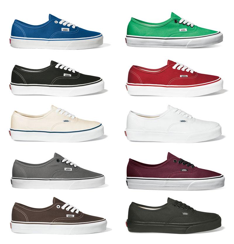 Vans Authentic Klassiker Sneaker Skate Schuhe Größen: 37 47