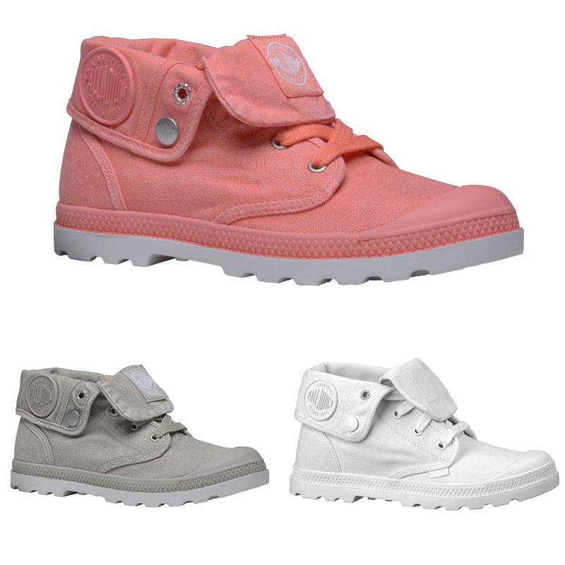 Palladium Baggy Low LP Women Sneaker Stiefellette Boots Modern Textil Kunststoff