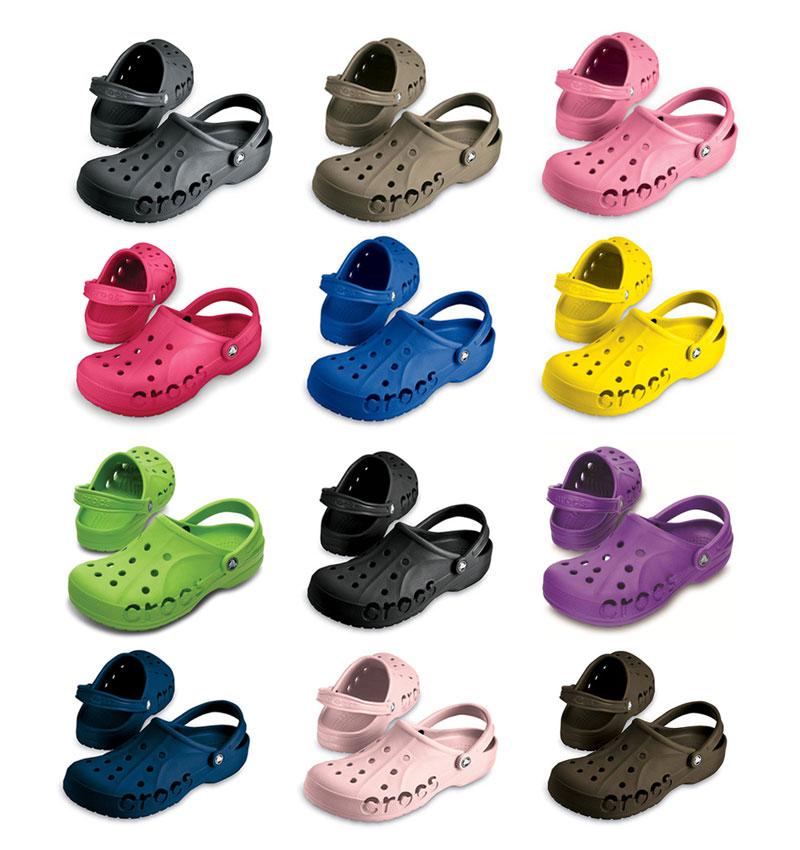 CROCS Baya viele Farben Sandalen Clogs Hausschuhe Gr.: 36 48