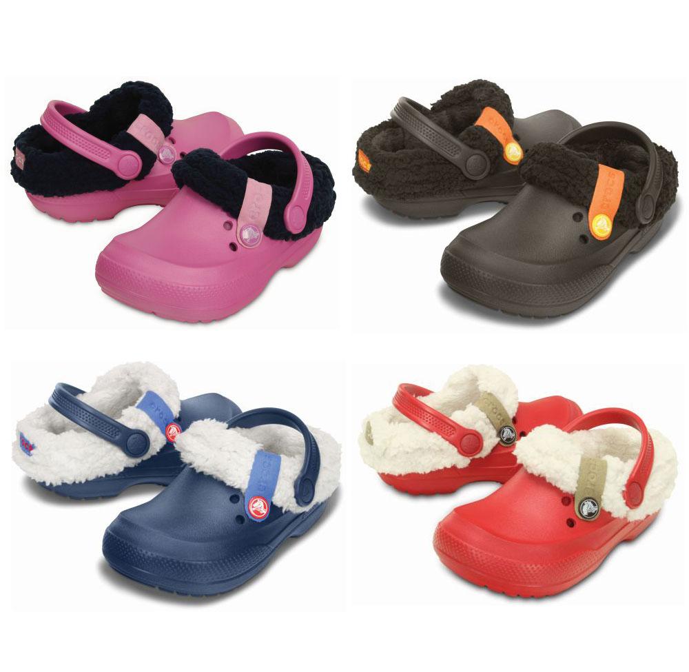 CROCS Blitzen II Clog KIDS Kinder Schuhe Sandalen Pantoffel warm gefüttert