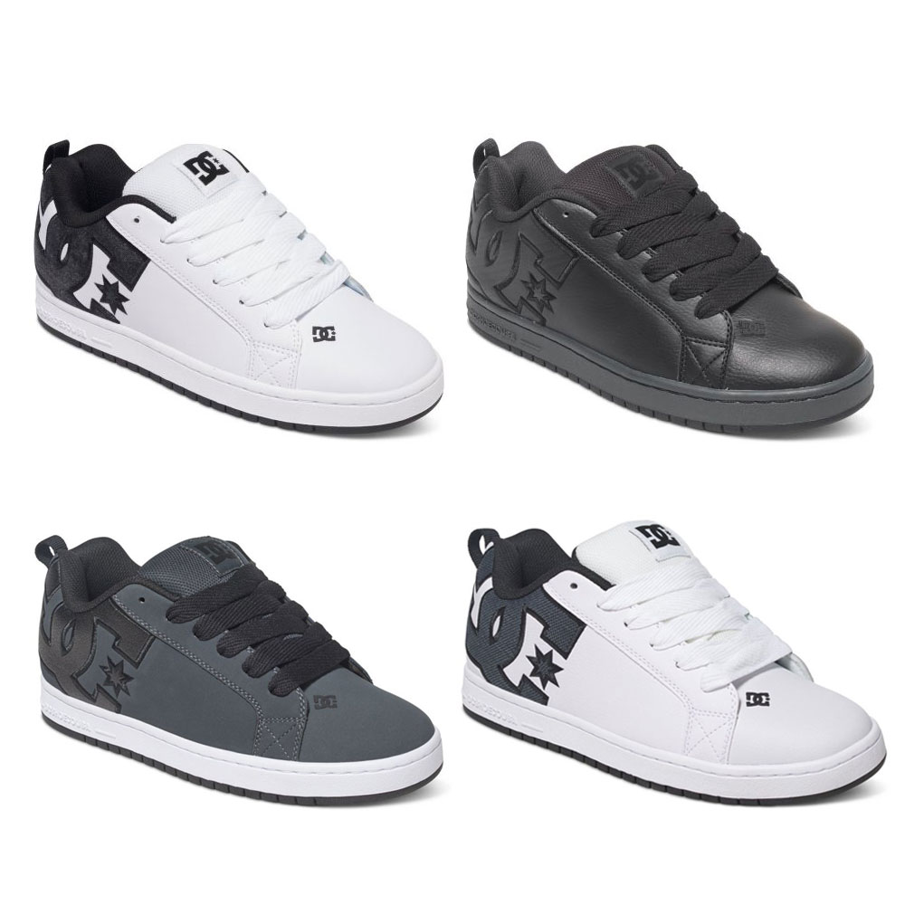 DC Shoes Court Graffik SE Herren Low Cut Sneaker vulkanisiert Skate Schuhe