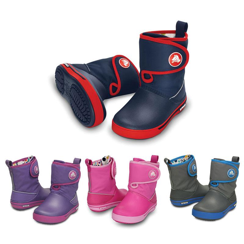 Crocs Crocband II.5 Gust Boot Kids Kinder Wasserfest Gummistiefel Schuhe
