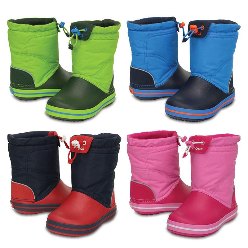 Crocs Crocband LodgePoint Boot Kids Kinder Regen Gummistiefel Schuhe
