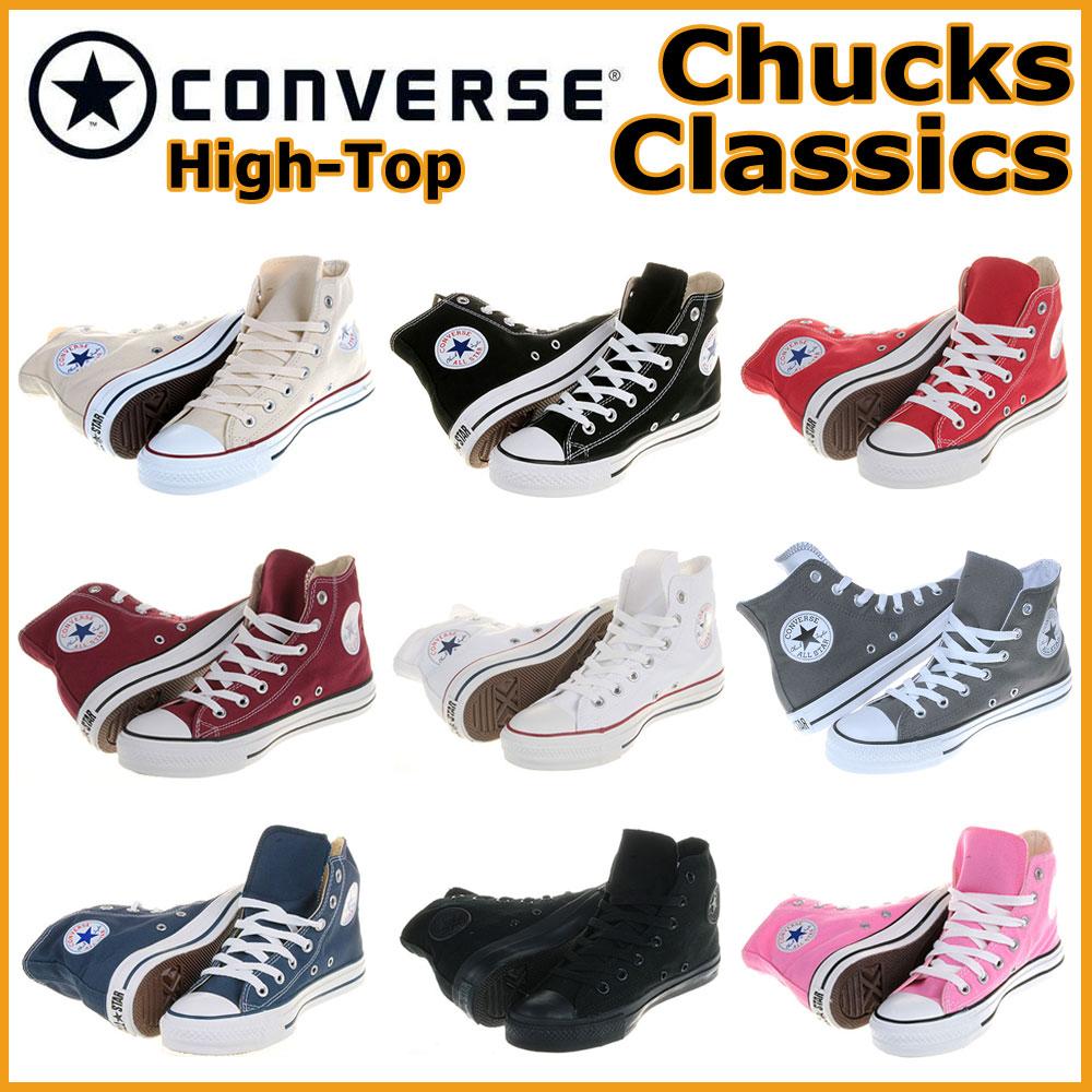 Converse Chucks All Star Hi klassischer Damen Herren Sneaker Schuhe