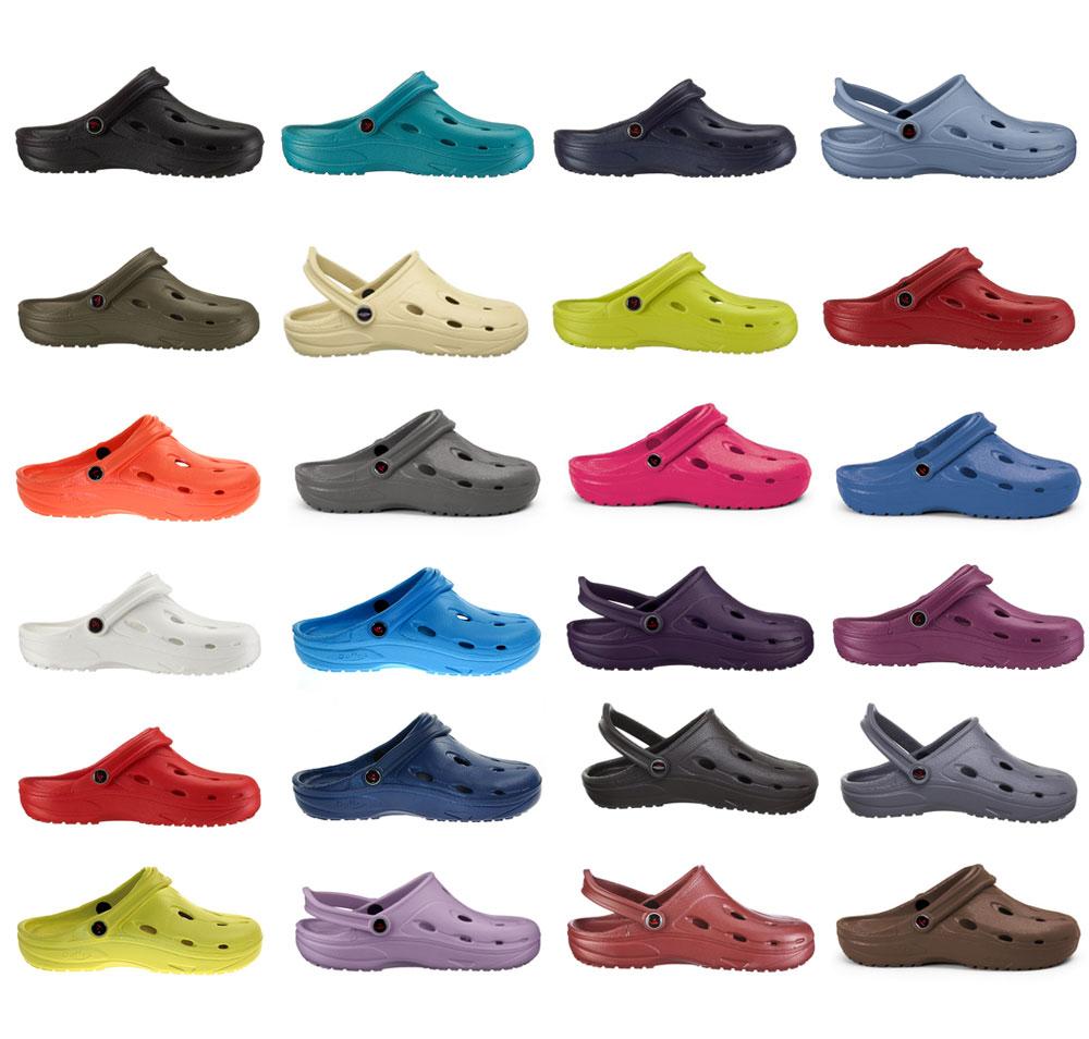 Chung Shi DUX DUFLEX viele Farben Clogs Sandalen Hausschuhe Gr.: 36 49