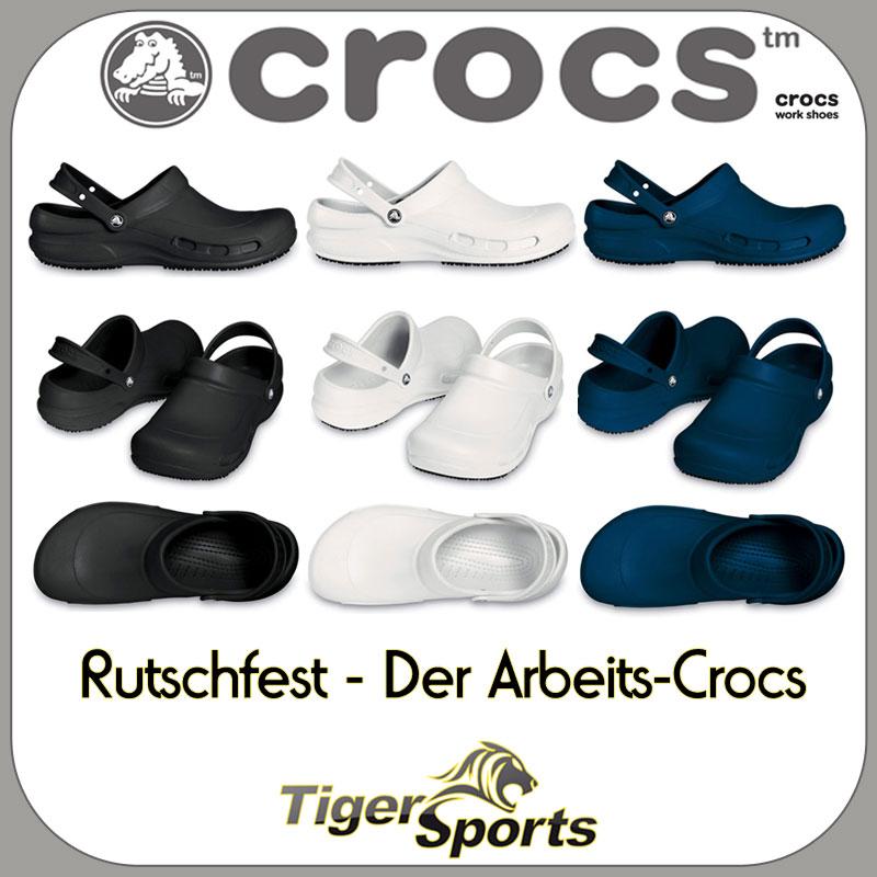 Crocs Bistro Arbeitsschuhe Sandalen Clogs Größen: 36 48