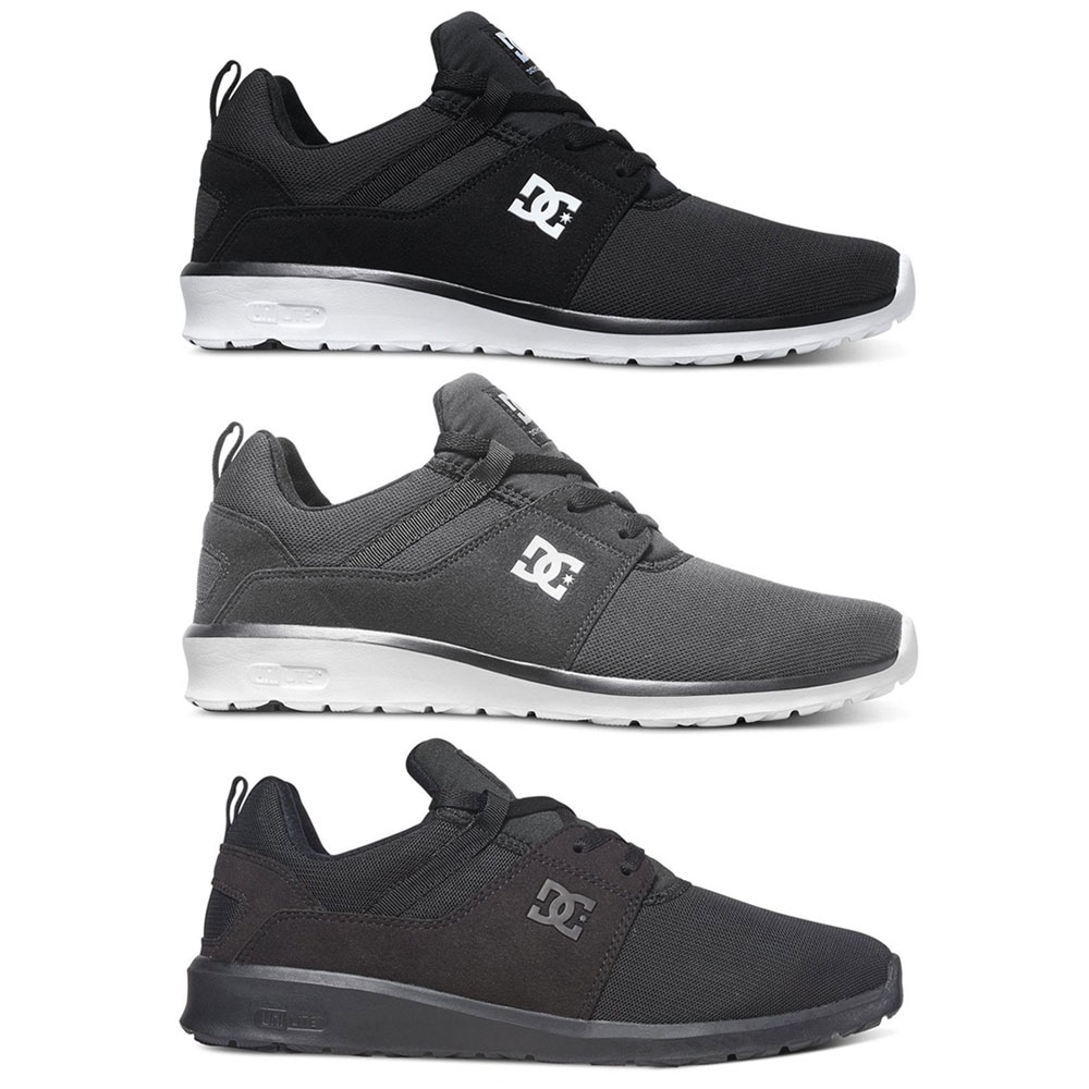 DC Shoes Heathrow Leichtbau Sneaker Trainer mit OrthoLite Fußbett Schuhe