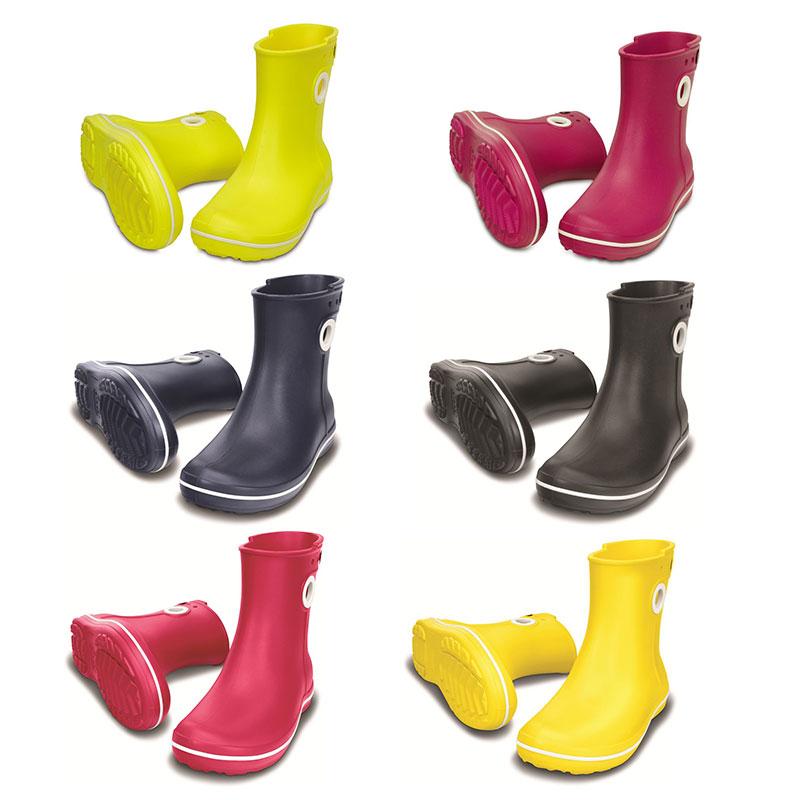 Crocs Jaunt Shorty Boot Damen Gummistiefel Boots Schuhe Regenschuhe