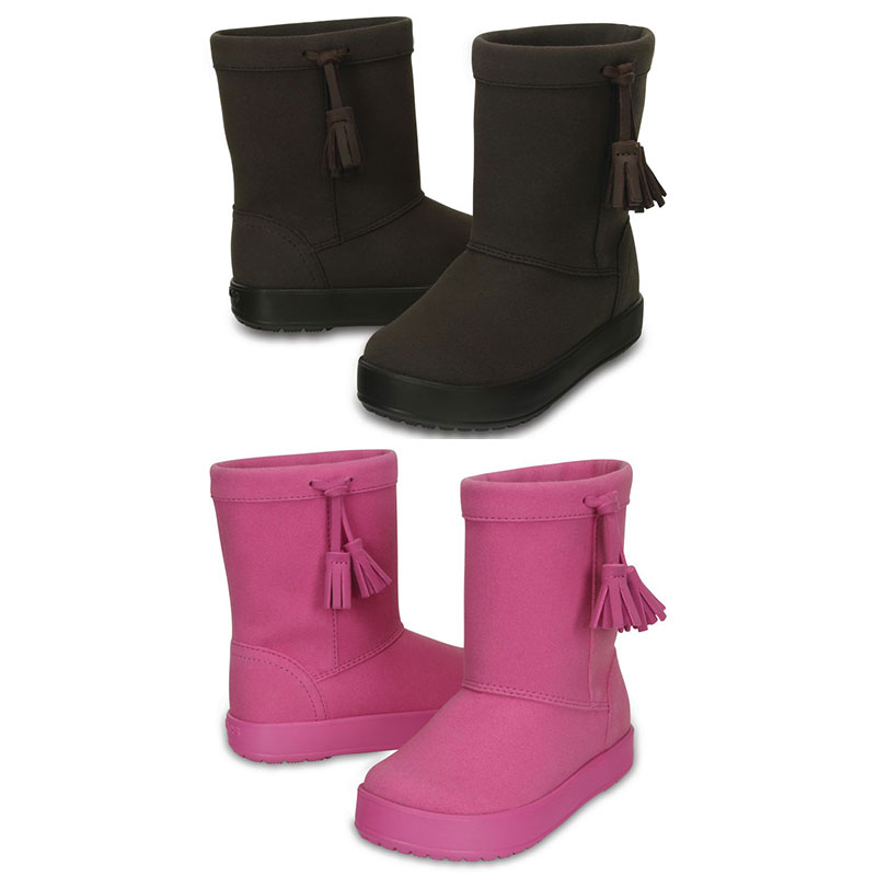 Crocs LodgePoint Boot Kids Kinder Regenstiefel Gummistiefel Schuhe