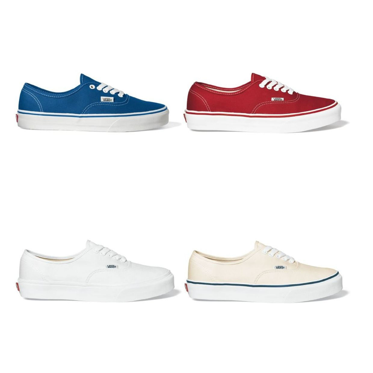 Vans Authentic Sneaker Halbschuhe Canvas Unisex Schuhe CO