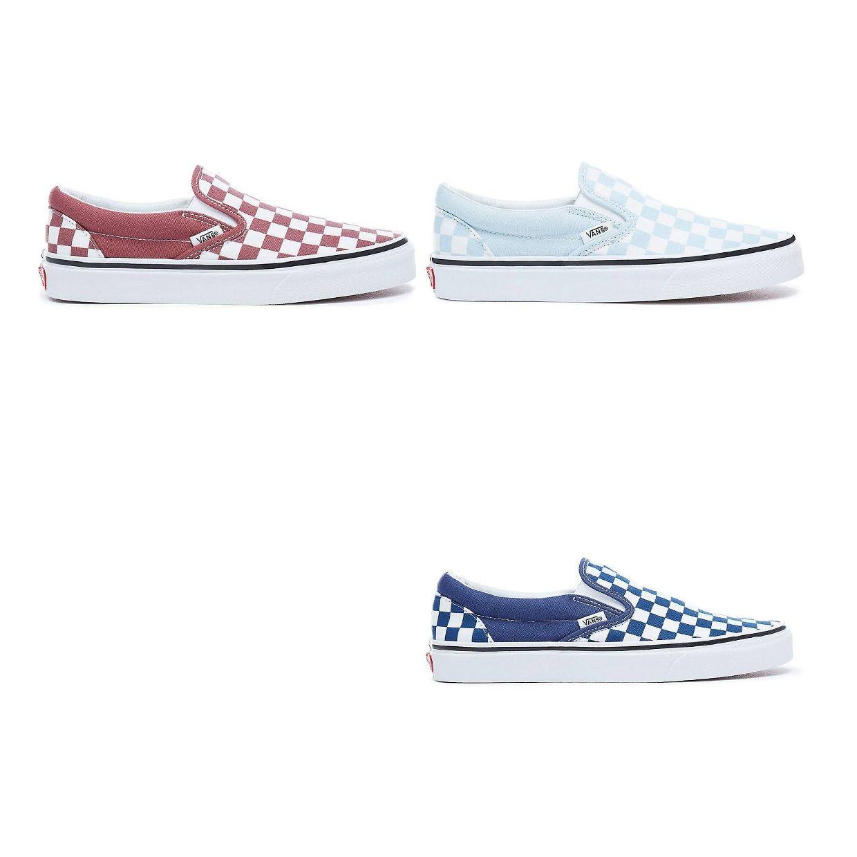 Vans Classic Slip-On Sneaker Halbschuhe Canvas Unisex Schuhe FS18
