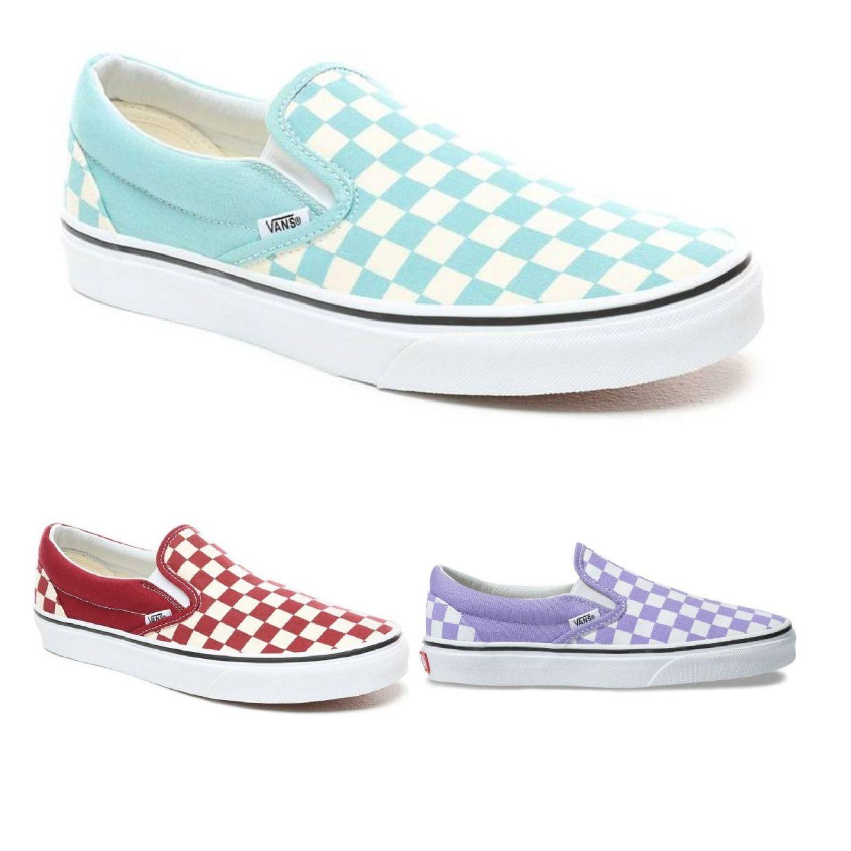 Vans Classic Slip-On Sneaker Halbschuhe Canvas Unisex Schuhe FS19