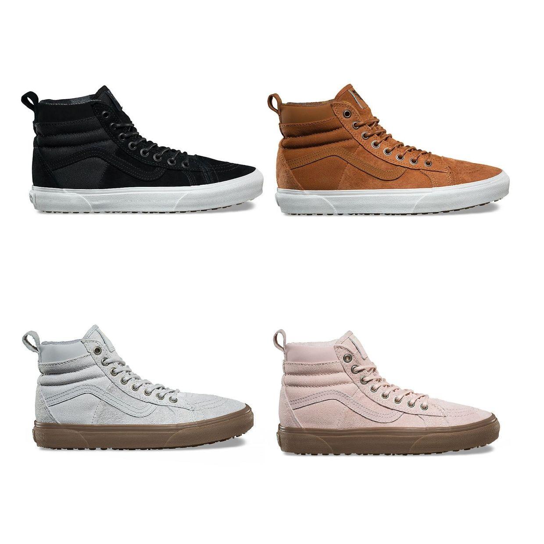 Vans SK8-Hi 46 MTE DX Sneaker Chukkas Leder Textil Unisex Schuhe HW17
